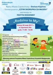 Plakat Festyn 2017 Żłobek